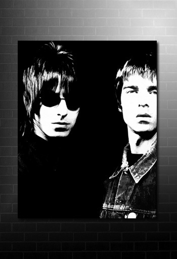 noel gallagher canvas art, liam gallagher canvas picture, oasis framed picture, noel gallagher pop art, oasis canvas, noel gallagher print
