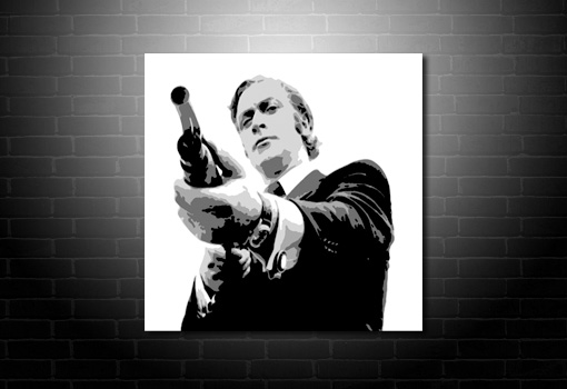 Get Carter Canvas, get carter wall art, get carter movie art, get carter pop art, michael caine canvas art