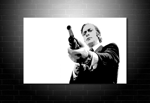 Get Carter movie canvas, Get Carter Canvas, get carter wall art, get carter pop art, canvas prints uk