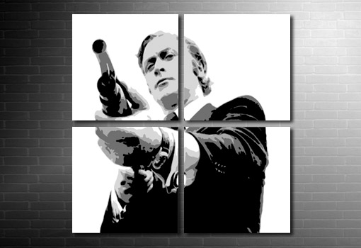 Get Carter wall art, Get Carter Canvas, get carter movie art, get carter pop art, michael caine canvas art