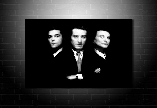 Goodfellas canvas print, goodfellas movie art, goodfellas art print, goodfellas wall art, goodfellas pop art