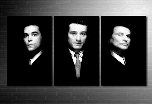Goodfellas canvas wall art, goodfellas movie art, goodfellas canvas art print, goodfellas wall art, goodfellas pop art