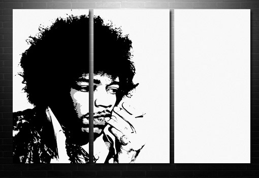 Jimi Hendrix Wall Art wall art, Jimi Hendrix Canvas, jimi hendrix pop art, jimi hendrix print, canvas art prints uk