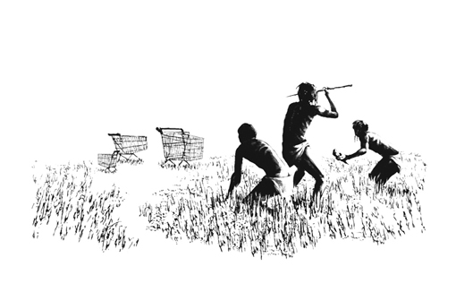 Hunters, Banksy