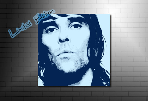 ian brown canvas art, stone roses wall art, ian brown canvas print, ian brown pop art, ian brown wall art