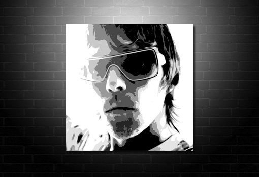 Ian Brown Canvas print, ian brown wall art, ian brown pop art, ian Brown print, ian brown canvas art