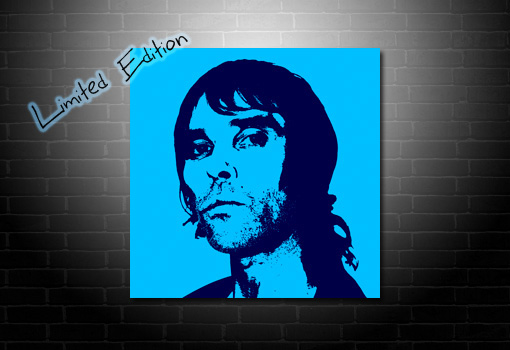 Ian Brown Canvas Art print, ian brown wall art, canvas art uk, ian brown pop art, ian Brown print