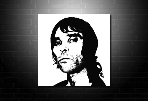 Ian Brown canvas art, ian brown artwork, ian brown wall art, ian brown pop art, ian Brown print
