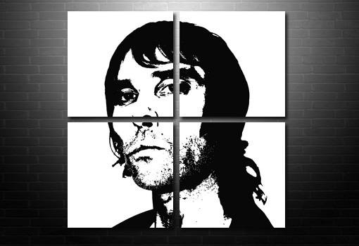 Ian Brown Canvas wall art, ian brown canvas art, ian Brown print, ian brown artwork, music canvas art uk