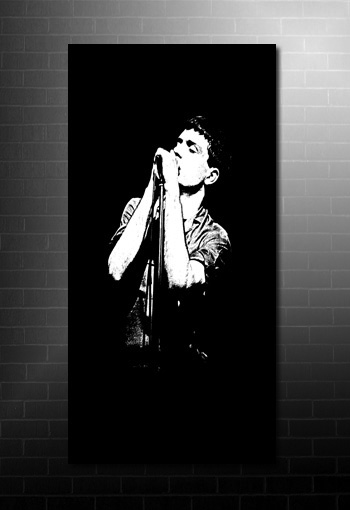 Ian Curtis canvas art print, Ian Curtis canvas, joy division canvas, ian curtis print, Ian Curtis canvas artwork