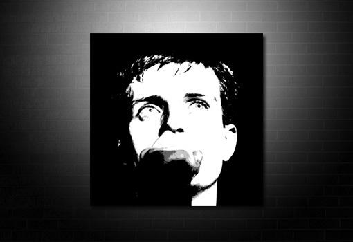 Ian Curtis canvas art, ian curtis print, ian curtis wall art, Ian Curtis artwork, Ian curtis canvas picture