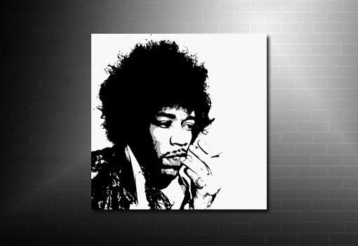 Jimi Hendrix canvas art, Jimi Hendrix Canvas, jimi hendrix wall art, jimi hendrix pop art, jimi hendrix print