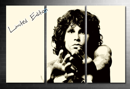 Jim Morrison wall art, Jim Morrison print, Jim Morrison artwork, Jim Morrison pop art