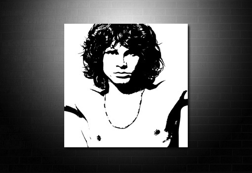 Jim Morrison Canvas art Print, Jim Morrison wall art, Jim Morrison pop art, Jim Morrison print, Jim Morrison artwork