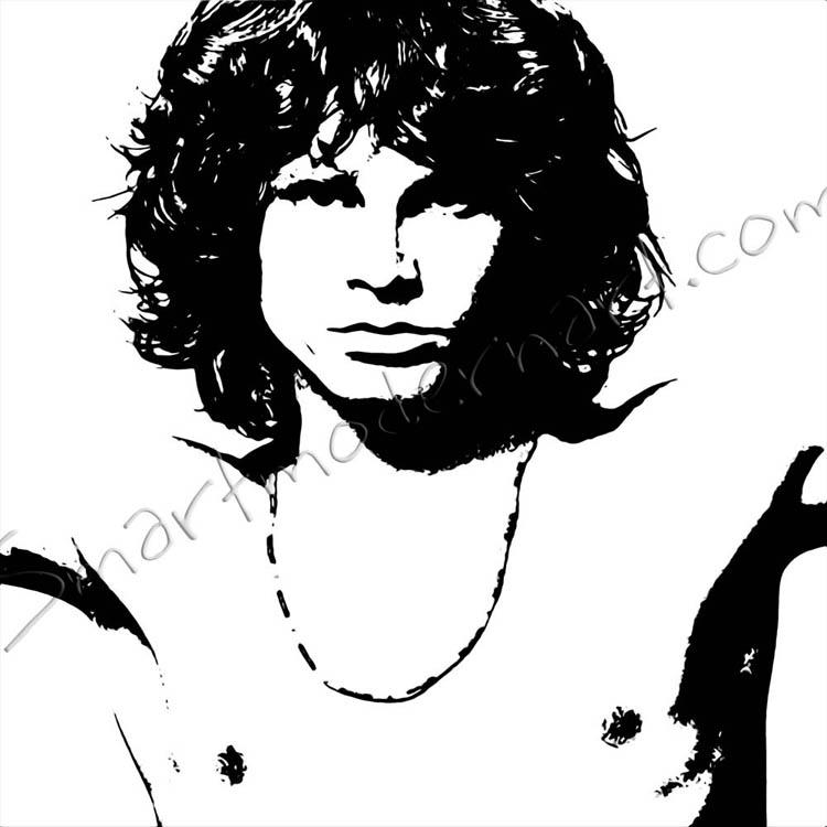 Jim Morrison Canvas Wall Art Artwork The Doors