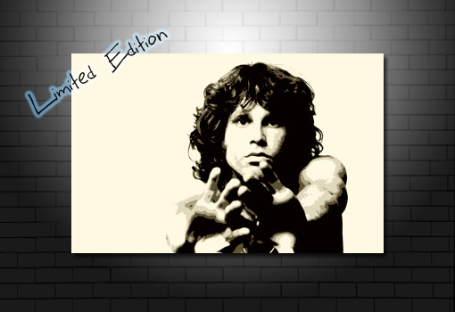 Jim Morrison Art, Jim Morrison pop art, Jim Morrison wall art