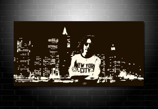 John Lennon canvas print, John Lennon print, John Lennon canvas picture