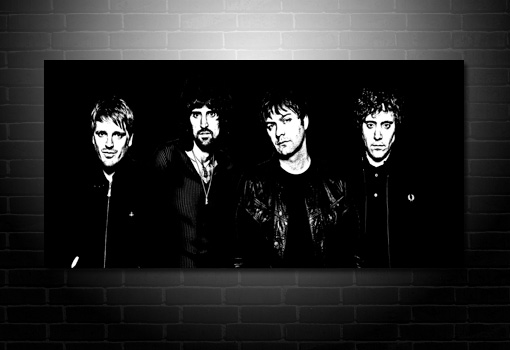 kasabian canvas art print, kasabian wall art, kasabian print, kasabian canvas