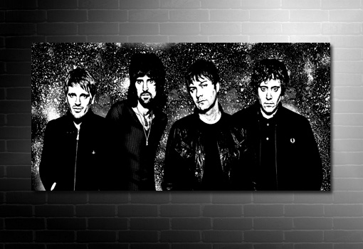 kasabian canvas print, kasabian print, kasabian canvas picture