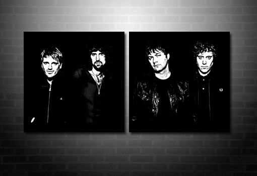 kasabian canvas art, kasabian canvas print, kasabian wall art
