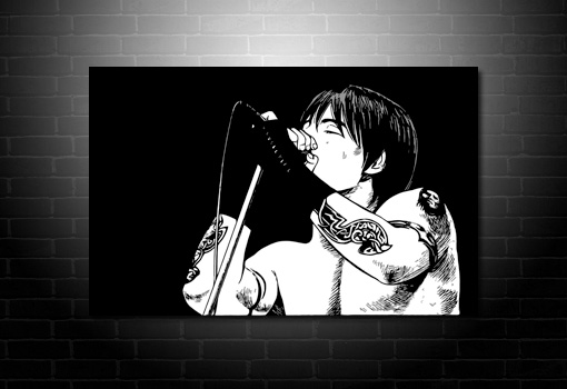 Anthony Keidis Canvas Art, RHCP Canvas, Anthony Keidis Wall Art, Red Hot Chilli Peppers Canvas