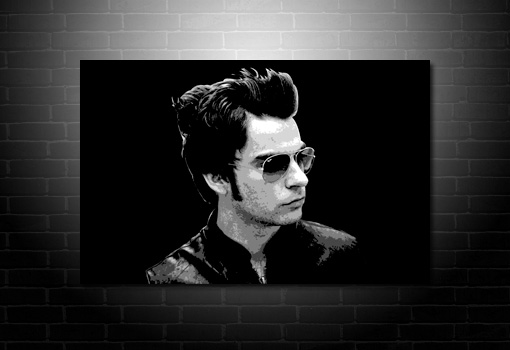 Stereophonics Canvas art, Kelly Jones print, Kelly Jones Pop Art, Stereophonics wall Art