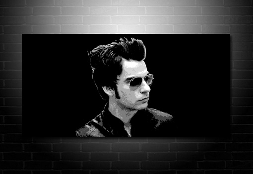Stereophonics Canvas Print, Kelly Jones Canvas print, Kelly Jones wall Art, Stereophonics Canvas print