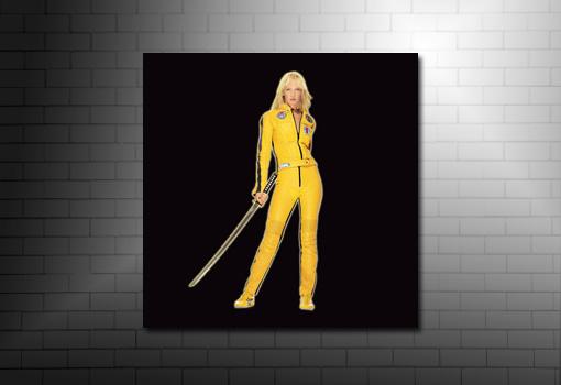 kill bill movie canvas, kill bill canvas wall art, kill bill canvas print