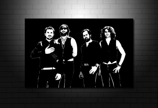 The Killers Canvas, the killers wall art, brandon flowers canvas, brandon flowers wall art, the killers canvas picture, music canvas prints uk