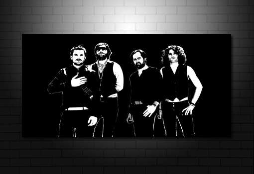 The Killers Canvas pop art, the killers wall art, the killers canvas picture, the killers canvas prints, music canvas art uk