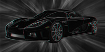Koenigsegg Canvas Art, Koenigsegg  Wall Art, 3d Canvas Art