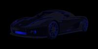 Koenigsegg Canvas, cars canvas art print, cars on canvas