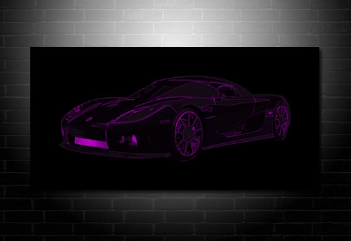 Koenigsegg Canvas Art, Koenigsegg Wall Art