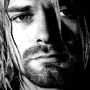 kurt cobain canvas art print, nirvans canvas, nirvana wall art, kurt cobain canvas, canvas art uk