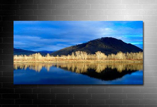 landscape wall art, contemporary landscape art