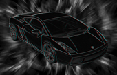 Lamborghini 3D Wall Art, 3d canvas art, lamborghini on canvas