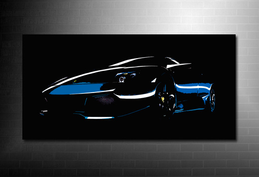 Lamborghini Canvas Art, Lamborghini Canvas Print, Lamborghini Wall Art