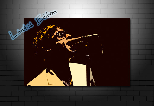 liam gallagher canvas, liam gallagher canvas art, liam gallagher print, liam and noel gallagher canvas, oasis canvas print