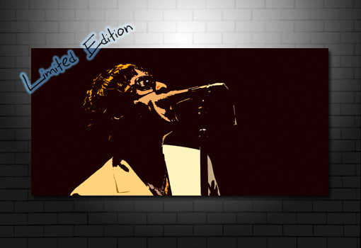 gallagher brothers canvas wall art, liam gallagher pop art, liam gallagher canvas art, liam gallagher wall art