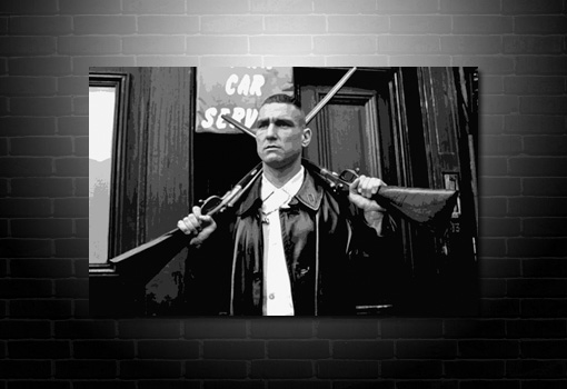 lock stock movie canvas, vinnie jones canvas, lock stock movie art, lock stock movie wall art