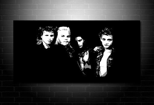 lost boys canvas art print, lost boys movie art, lost boys canvas wall art, lost boys canvas print