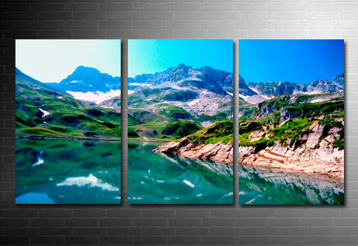 modern landscape art, landscape canvas picture