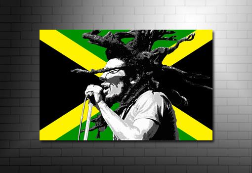 Bob Marley Print wall art, Bob marley Canvas Art, bob marley art, bob marley pop art, Bob marley Canvas print