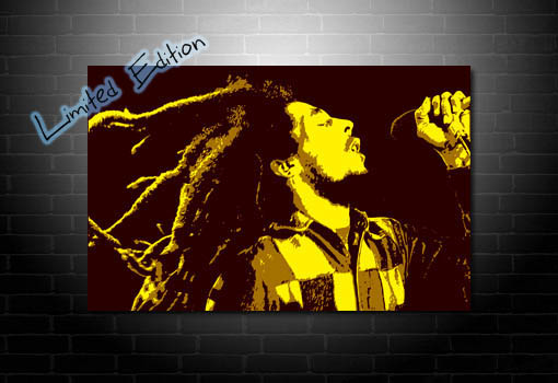 Bob Marley Canvas wall art, bob marley canvas, bob marley pop art, bob marley canvas artwork, Bob Marley print, Bob marley Canvas print