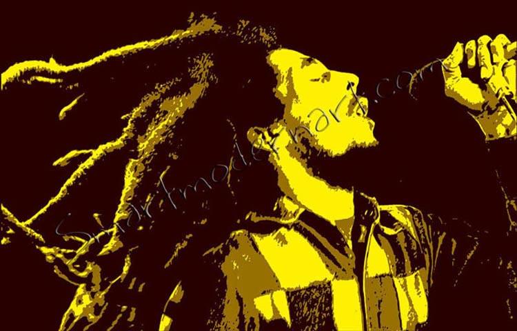 Bob Marley Canvas Art