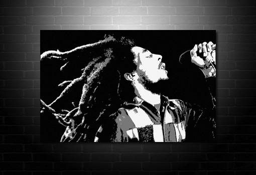 Bob Marley Canvas Art, Bob marley wall art, bob marley pop art, bob marley art, bob marley canvas artwork, Bob marley Canvas print