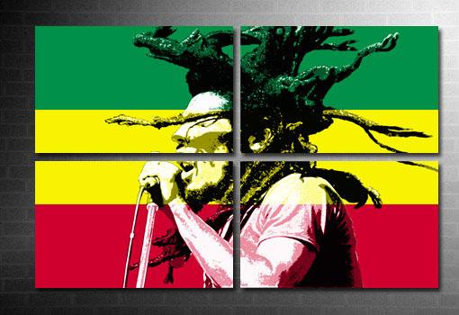 Bob Marley canvas art, Bob marley wall art, bob marley art, bob marley pop art, Bob marley Canvas print