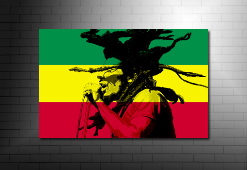 Bob Marley canvas picure, Bob marley Canvas Art, Bob marley wall art, bob marley art, bob marley pop art, Bob marley Canvas print