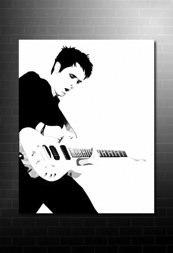 matt bellamy wall art, matt bellamy canvas prints muse pop art, matt bellamy art work