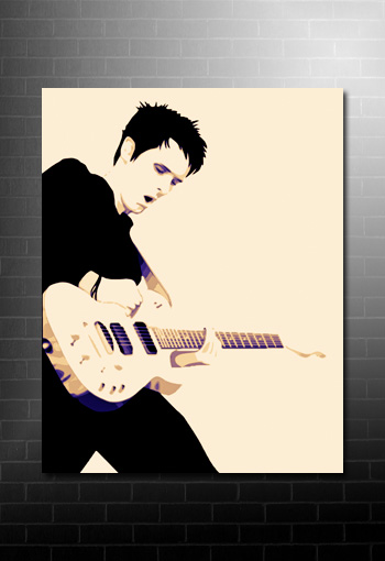 muse matt bellamy canvas art, matt bellamy canvas prints, muse canvas, matt bellamy canvas